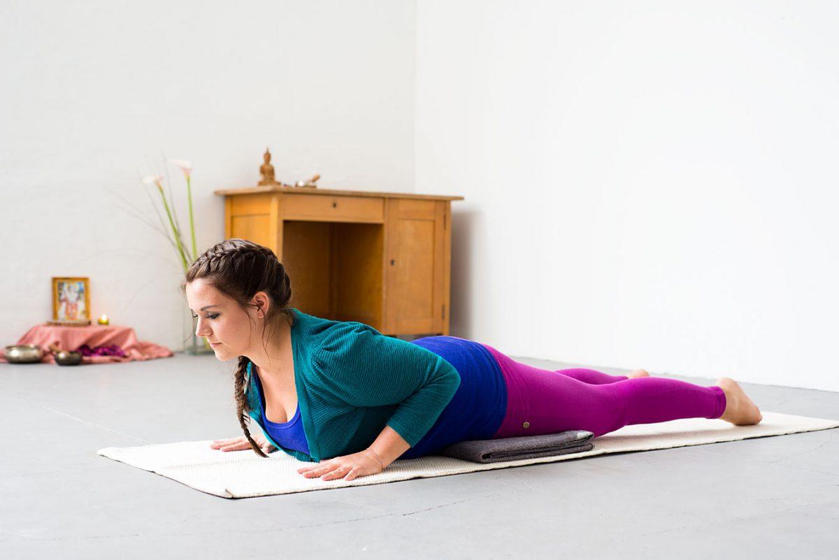 Yoga Fotoproduktion für das Yoga Journal zum Thema vollschlank |Felix Krammer Fotografie