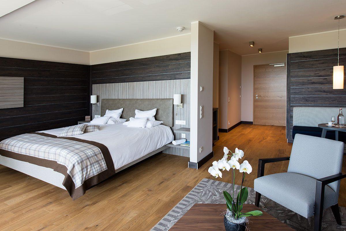 Hotelfotografie eines Hotelzimmers des Hotels Alpenblick |Felix Krammer Fotografie