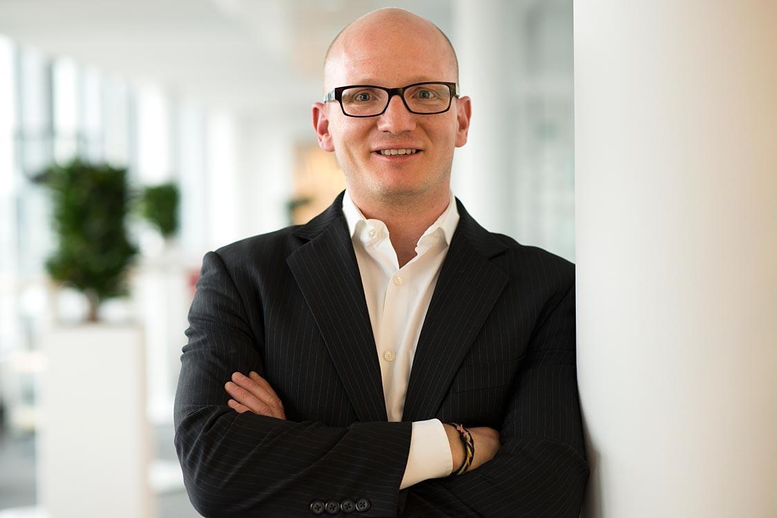 Businessfotografie - Portraitfotografie eines Mitarbeiters |Felix Krammer Fotografie