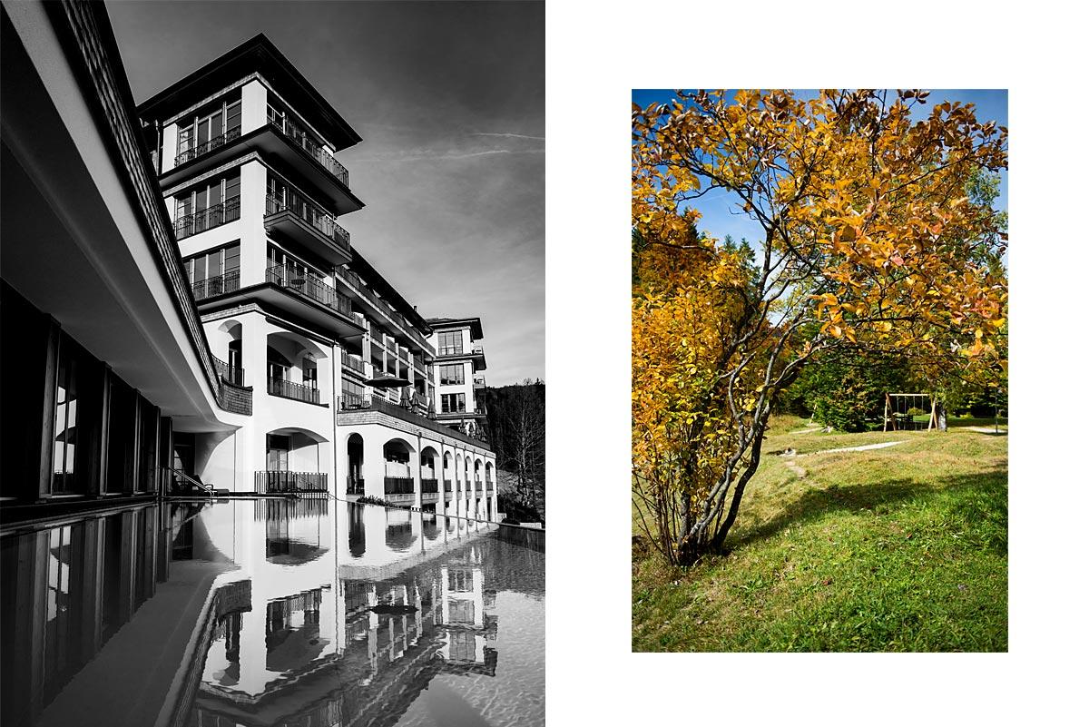 Schloss Elmau Retreat mit Pool |Felix Krammer Fotografie