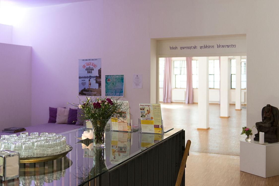 Interieurfotografie Yogastudio Jivamukti Yoga München |Felix Krammer Fotografie