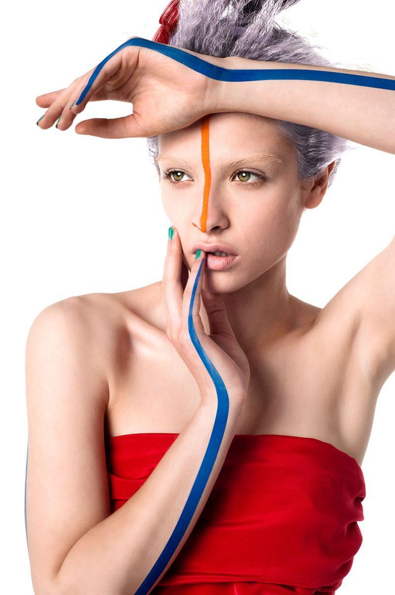Beauty Fotografie des Models Val |Felix Krammer Fotografie