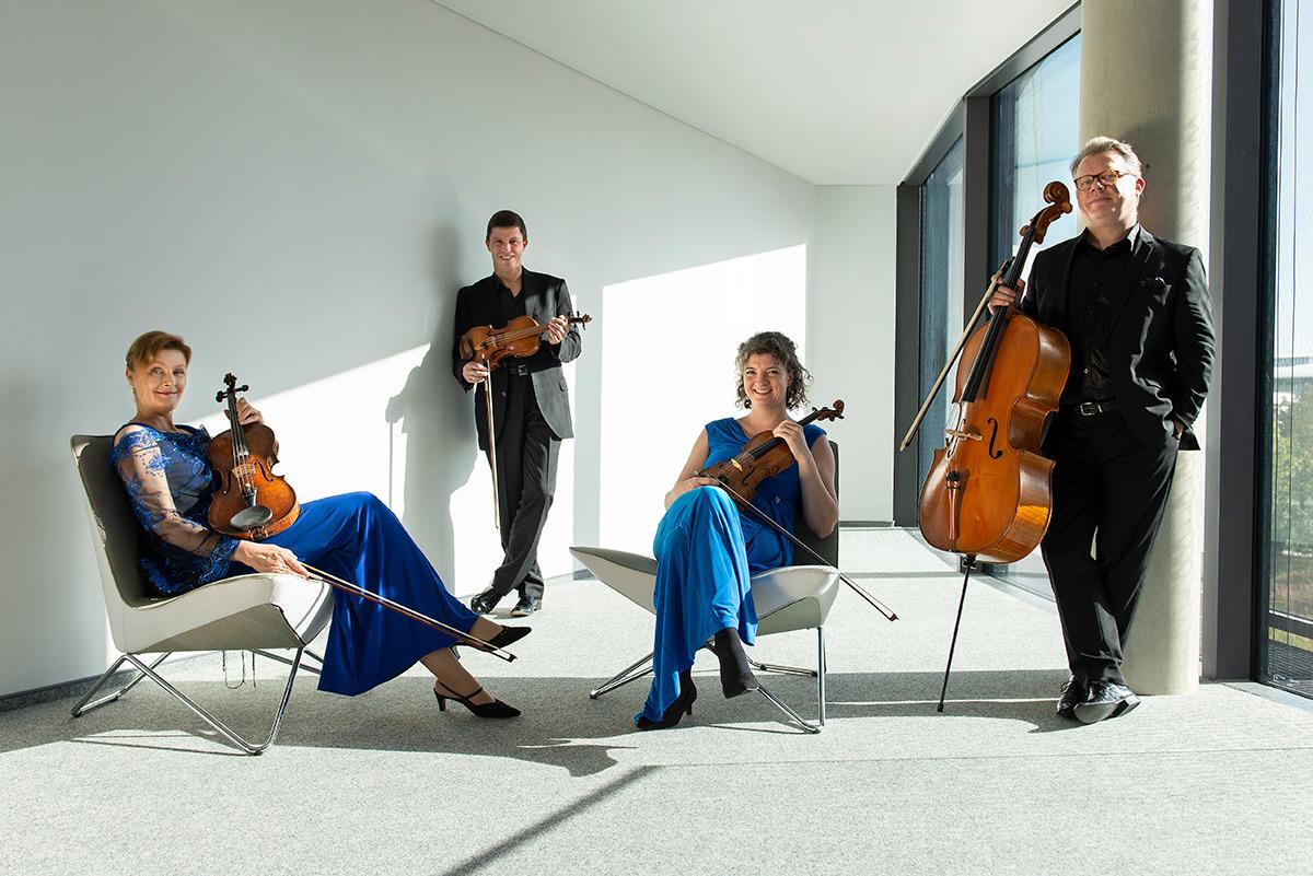 Gruppenaufnahme des Henschel Quartetts |Felix Krammer Fotografie