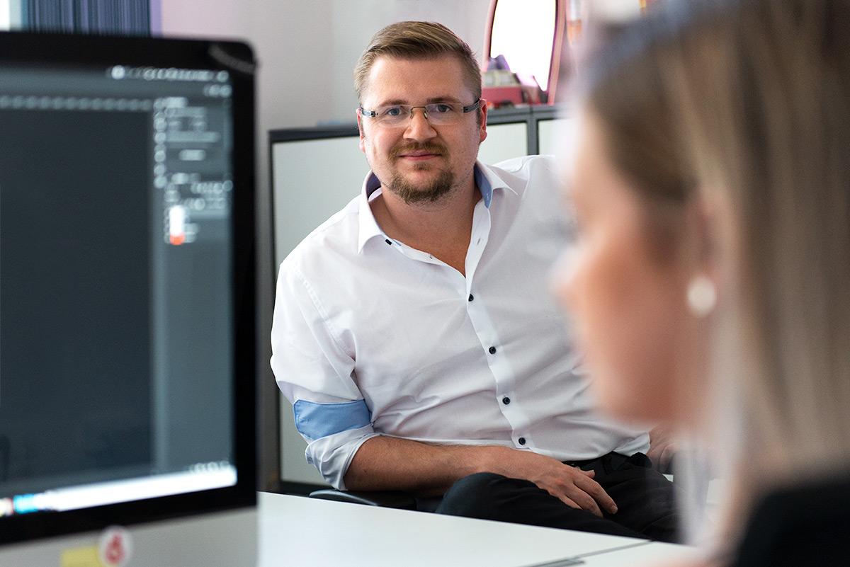 Businessfotografie - Portrait von Geschäftsführer Johannes Ulrich Gehrke |Felix Krammer Fotografie