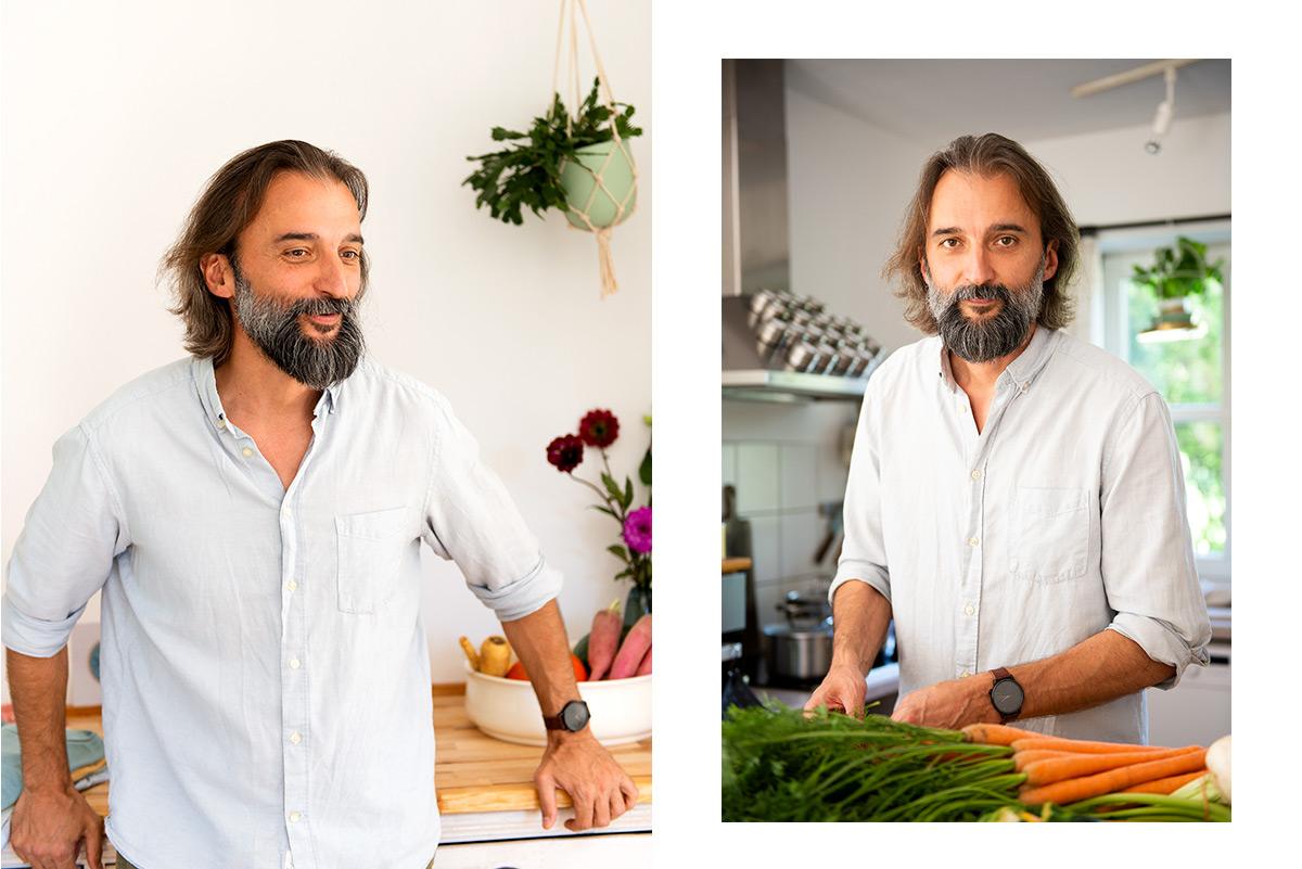 Firmenportrait von Martin Svitek beim Kochen |Felix Krammer Fotografie
