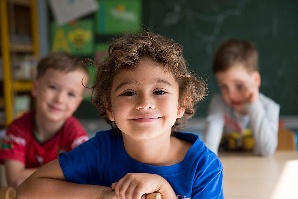 Kindergartenfotografie mit 3 Kindern |Felix Krammer Fotografie