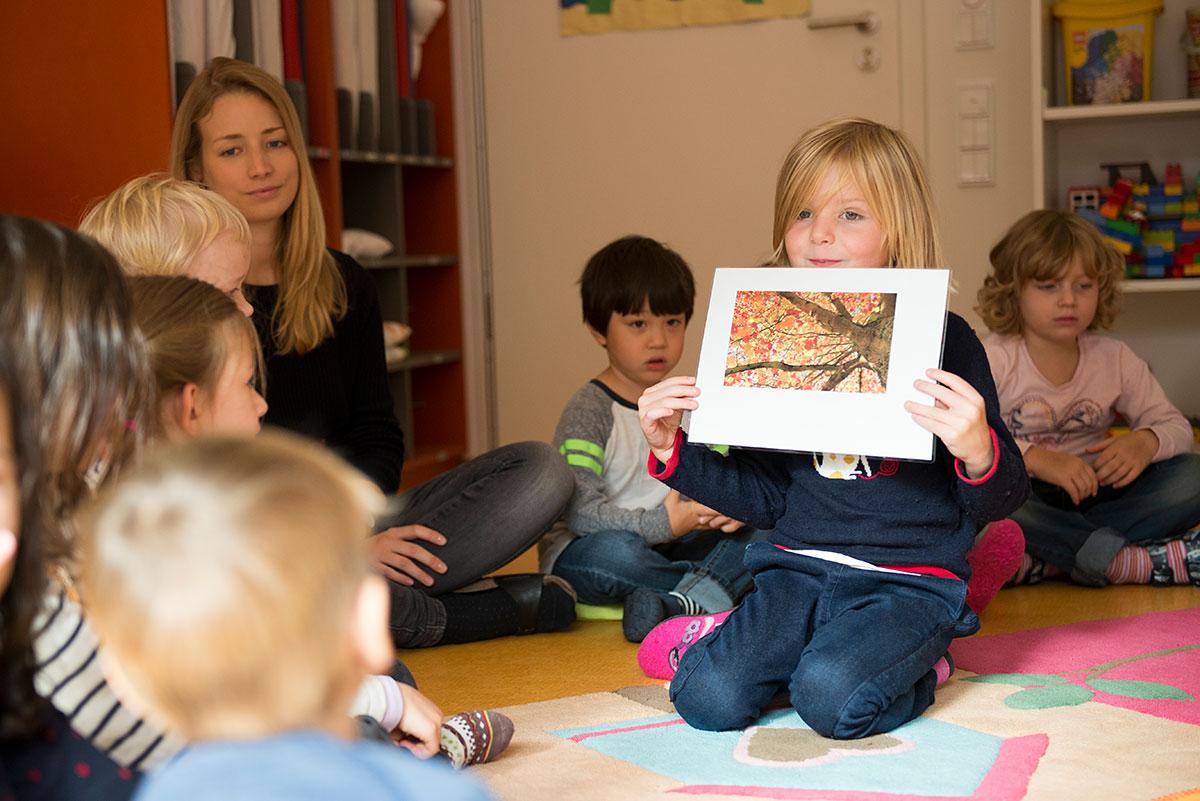 Sitzkeis im Kindergarten - Kindergartenfotograf München |Felix Krammer Fotografie